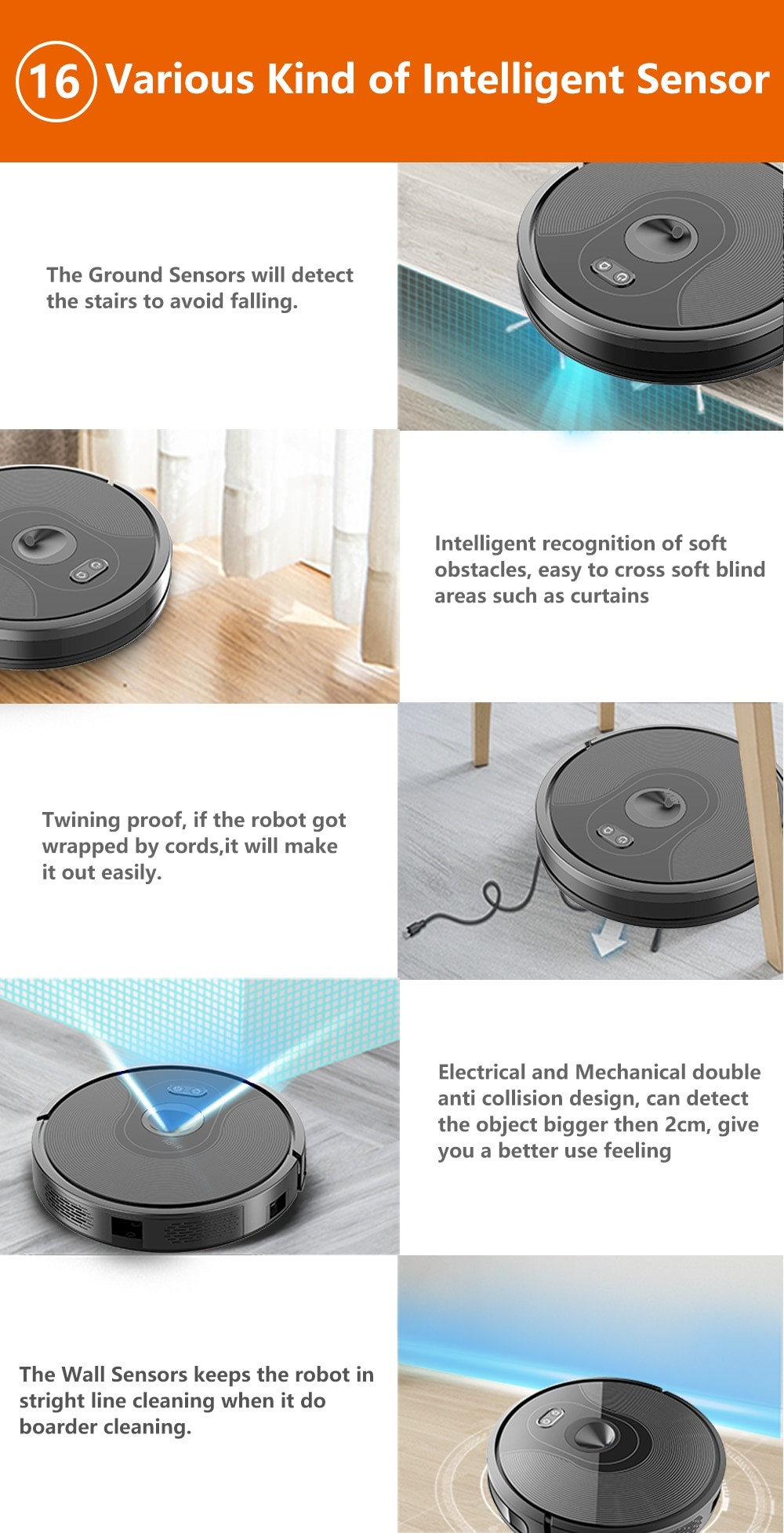 ABIR X6 Robot Vacuum Cleaner with Camera Navigation,WIFI APP controlled,Breakpoint Continue Cleaning,Draw Cleaning Area,Save Map