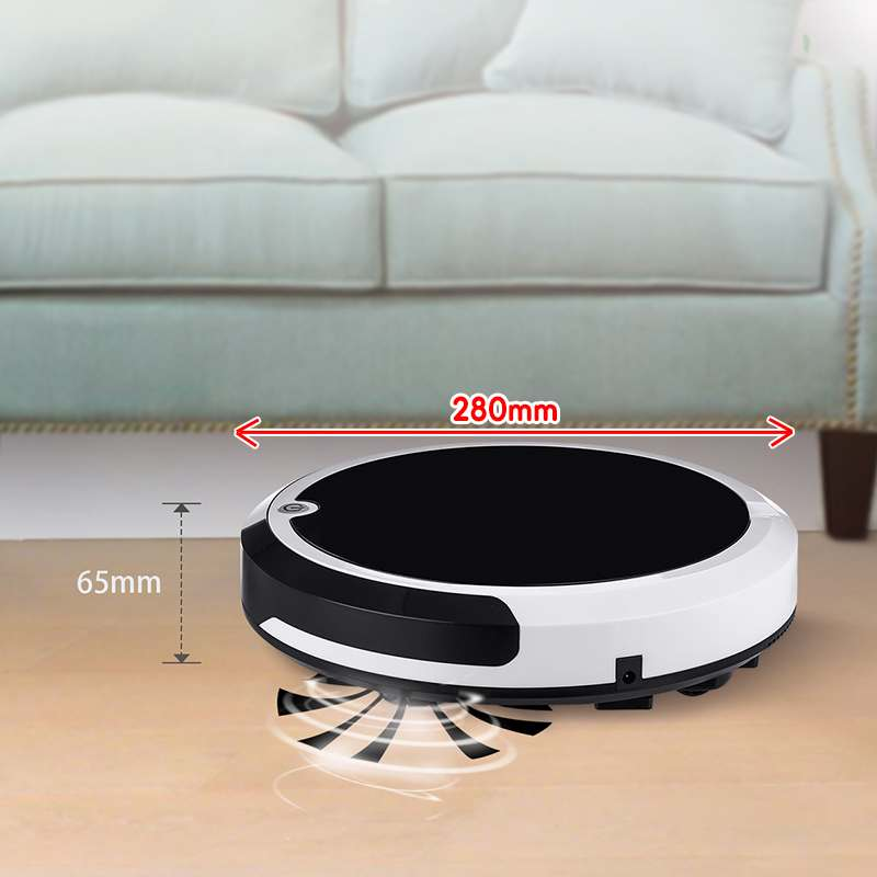 Smart Robot Vacuum Cleaner Robot Aspirador 1200Pa Wet And Dry Vacuum Cleaner Cleaning 3 in 1 Auto Sweeping Suction Drag Machine