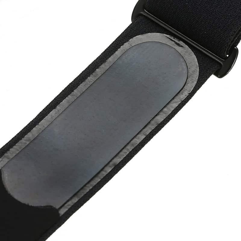 Fascia Cardio con fascia toracica nero intelligente Bluetooth e ANT + compatibile con molti orologi sportivi Garmin Polar