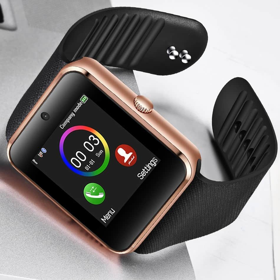 LIGE 2019 New Smart Watch Men SIM Card Camera Music Player LED Big Screen Touch Smart Watch Sport Watch for Android Smart Phone