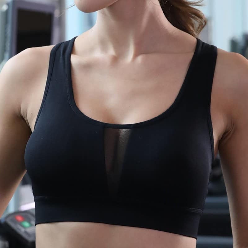 Heart Rate Monitor Bra Cardio Fitness Gym Wear Smart Electrode Sensor Sports Bra with Heart Rate Function for Ant+ Bluetooth 4.0