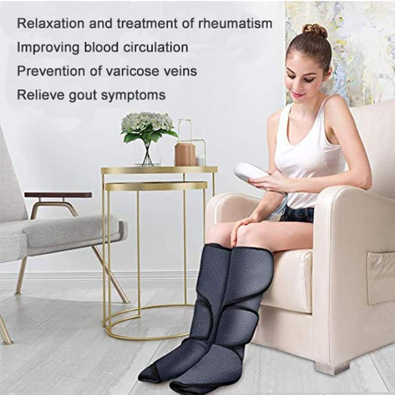Air wave leg pressing massager vibration infrared relaxing analgesic massager electric massager