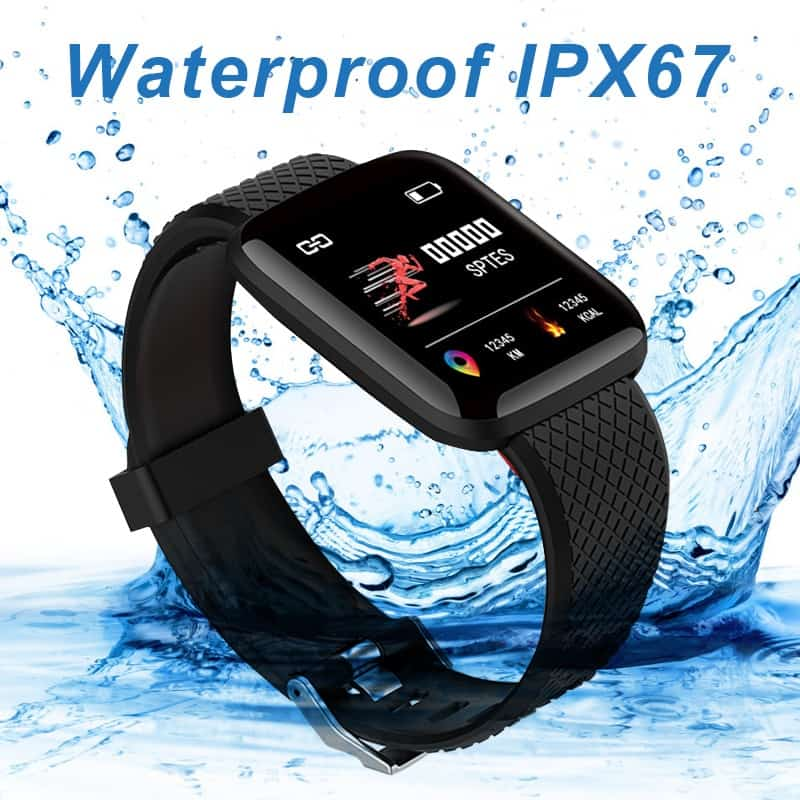 Smart Bracelets Fitness Health Band Pedometer Heart Rate Monitor Wristband Cardio Bracelet Smart Watch With Pressure Measurement