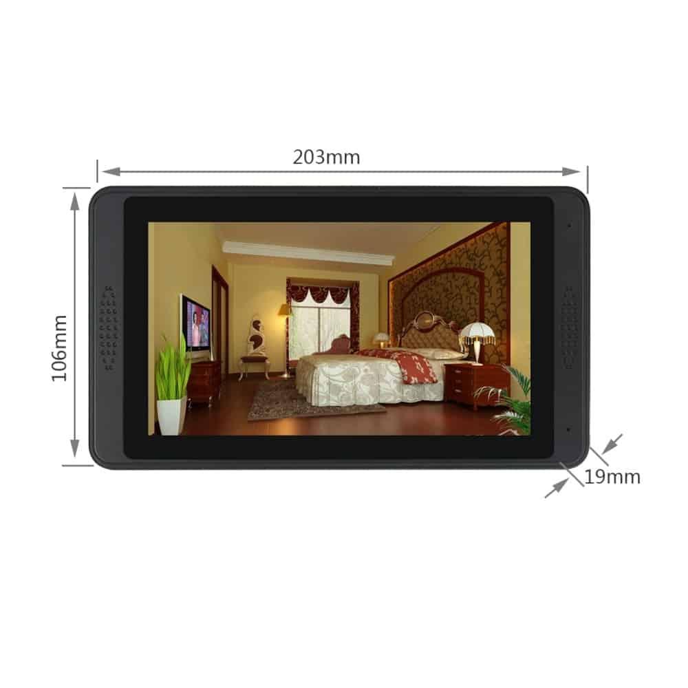 SmartYIBA WiFi Video Doorbell Camera Support 8 Mobile Phone APP User Wired WIFI Smart IP Video Doorbell Intercom 3 Monitors Kits