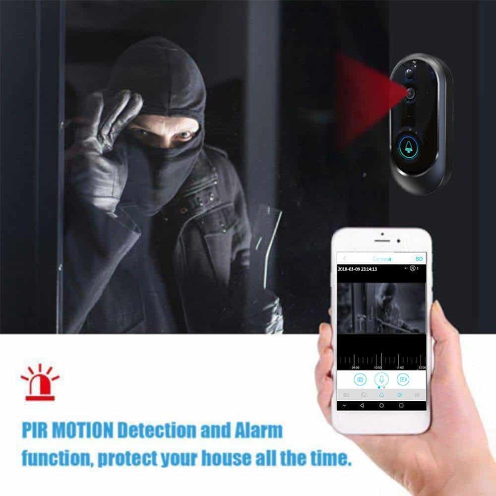 Wifi doorbell Camera Smart IP Video Intercom Video Door Phone Door Bell For Apartments IR Alarm Wireless Security Camera