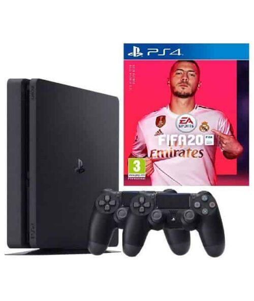1TB Playstation4 +1 extra pad + Fifa20.