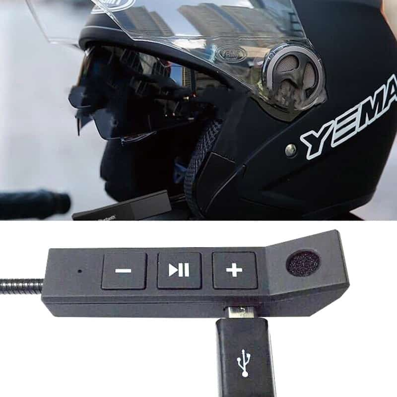 4.1+EDR Bluetooth Headphone Anti-interference For Motorcycle Helmet Riding Hands Free Headphone USB charging for Motorcycle