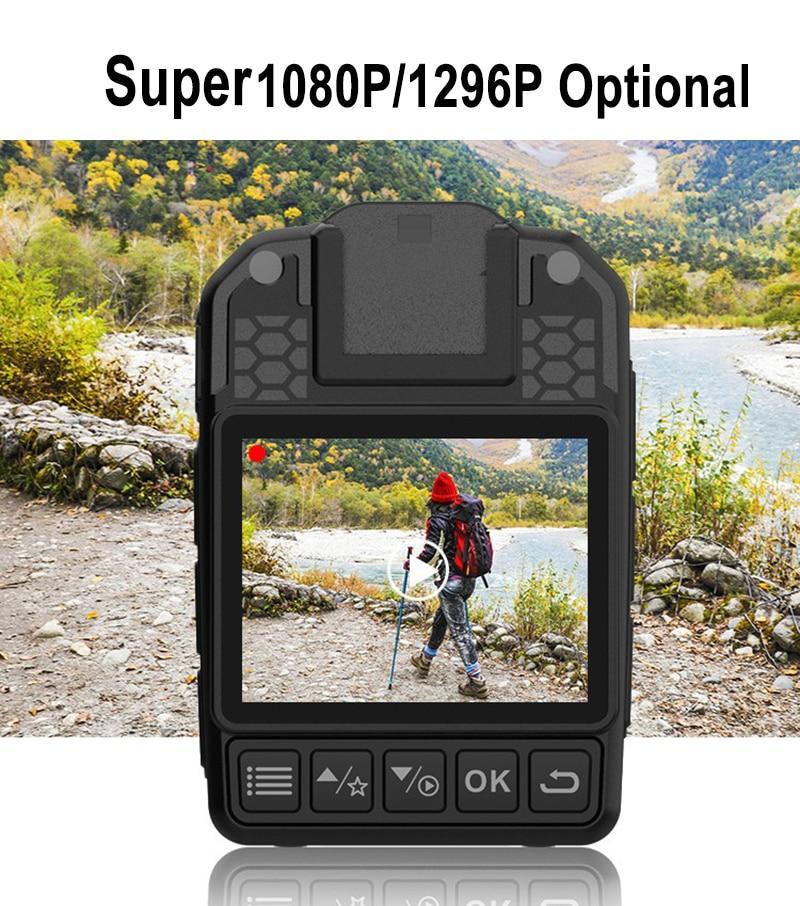Cheap High Quality Luxury 1296P 1080P FHD Body Police Camera Alarm Flash Nigit Vision DVR Video Recorder Car Camcorder 256/128G