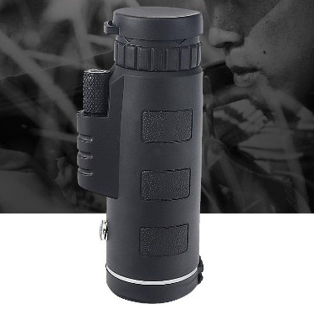 Hot Telescope Monocular 40X60 Zoom Monocular Binoculars Clear Weak Night Vision Telescope With Smart Phone Holder For Camping