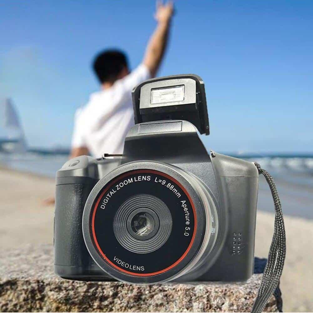 Professional XJ05 Digital Camera SLR 4X Digital Zoom 2.8 inch Screen 3mp CMOS Max 12MP Resolution HD 720P TV OUT Support Video