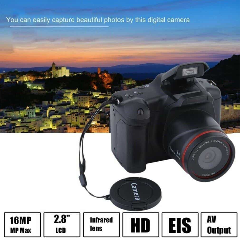 2 Million Pixel Home SLR Camera Digital Slr Camera Slr Film Camera HD 1080P High Resolution Camera 16X Zoom