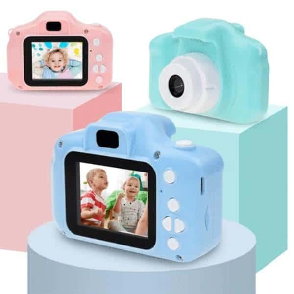 Children Digital Camera HD Photo Video Multi-function Camera Educational Toys Support Multi-languages Memory Card DJA88